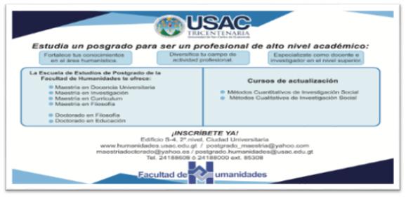 Maestria en humanidades en Ecuador